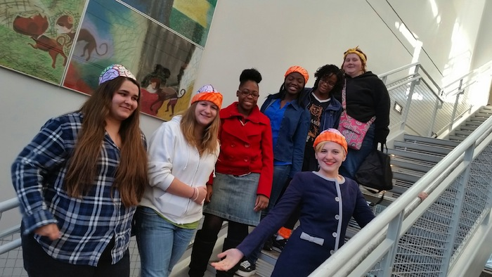 Great Path Academy Young Ladies Attend Women's STEM-C