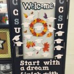 S.A.N.D. School Students Gain College Knowledge through Door Decorating Contest