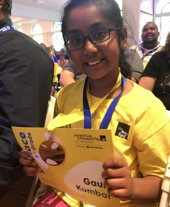 Annie Fisher STEM Magnet School 3rd Grade Student Earns 2nd Place in National Invention Convention