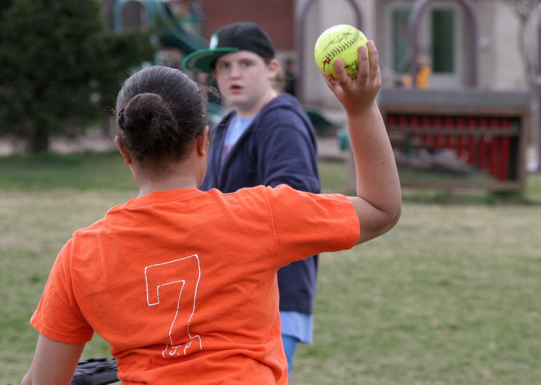 Softball in February – Brrrr