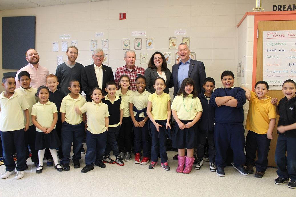 OUR SCHOOLS:  Sanchez School's Champion, the Glastonbury Rotary Club Earns Distinguished Friend of Education Award