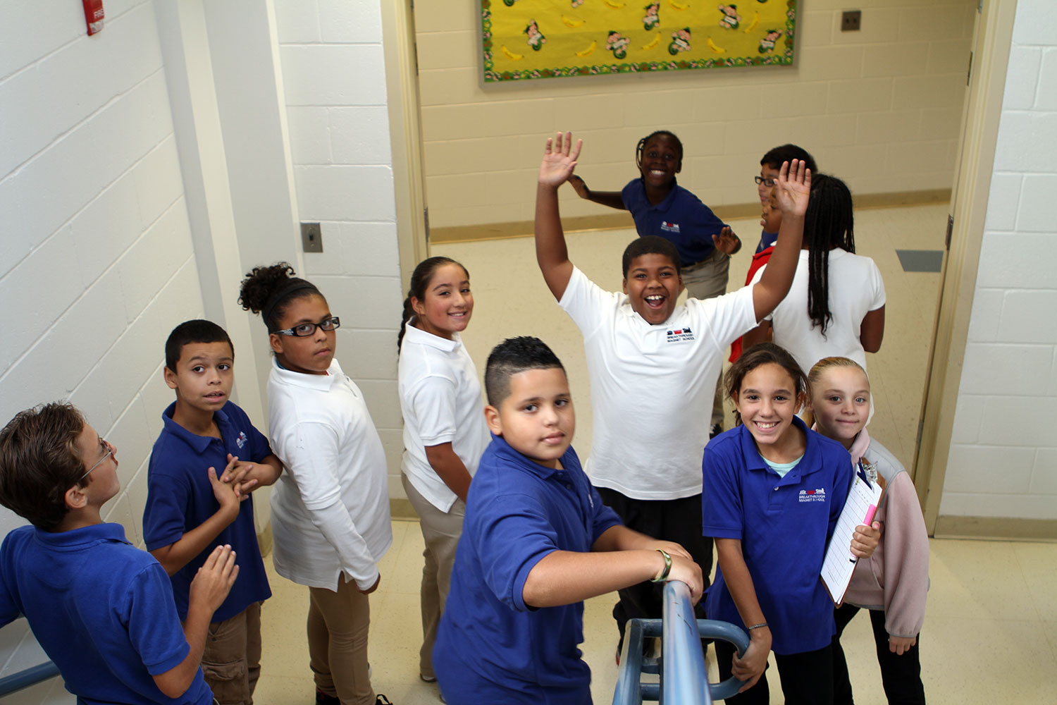 Breakthrough Magnet South School Students Featured in New York Times