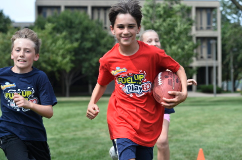 Alfred E. Burr Elementary School  is WINNER OF DANNON DANIMALS® AND FUEL UP TO PLAY 60 NATIONAL PROMOTION