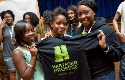 OUR PEOPLE: 144 Hartford Promise Scholars Build Community before Departing for College