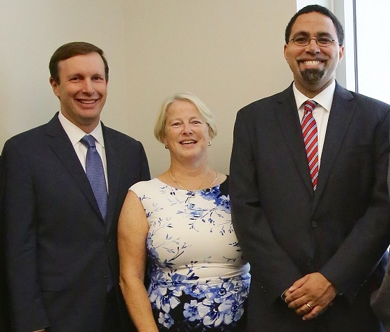 OUR DISTRICT: Students Participate in Roundtable Discussion on School Diversity & Equity with U.S. Secretary of Education John King Jr.
