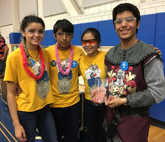 Academy of Engineering & Green Technology and Pathways Academy of Technology Robotics Team Makes It to Finals