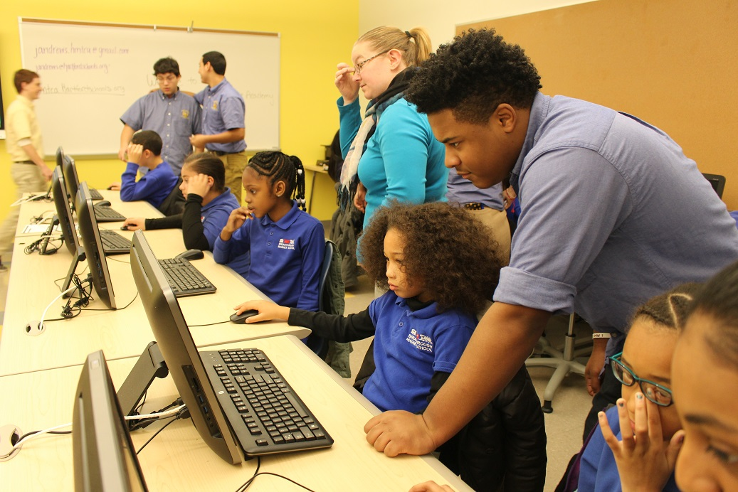 OUR SCHOOLS:  Hartford Magnet Trinity College Academy Hosts Hartford's Participation in the National Hour of Code