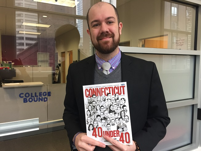 "Capital Community College Magnet Academy Principal Featured in Connecticut Magazine's ""40 Under 40"""