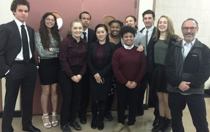 Classical Magnet School Mock Trial Team Advances to Quarterfinals of State-wide Competition
