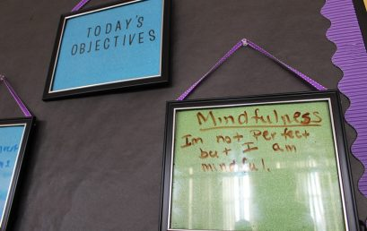 OUR PEOPLE: Mindfulness Practice in our RISE Academy Sites Advances Student Outcomes and Achievement