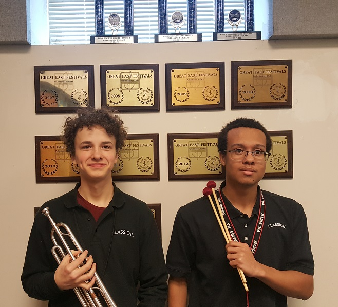 Classical Magnet Students Accepted to the Connecticut All-State Music Festival