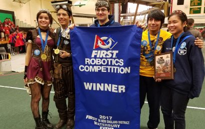 Engineering & Green Technology at HPHS and Pathways Academies' Birds of Prey Team Brings Home Top First Robotics Prize as Part of Alliance