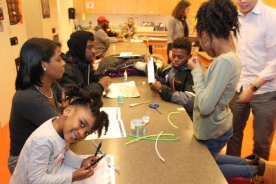 Discovery Education STEM Family Event Brought to Life by HPS High School Centers of Innovation