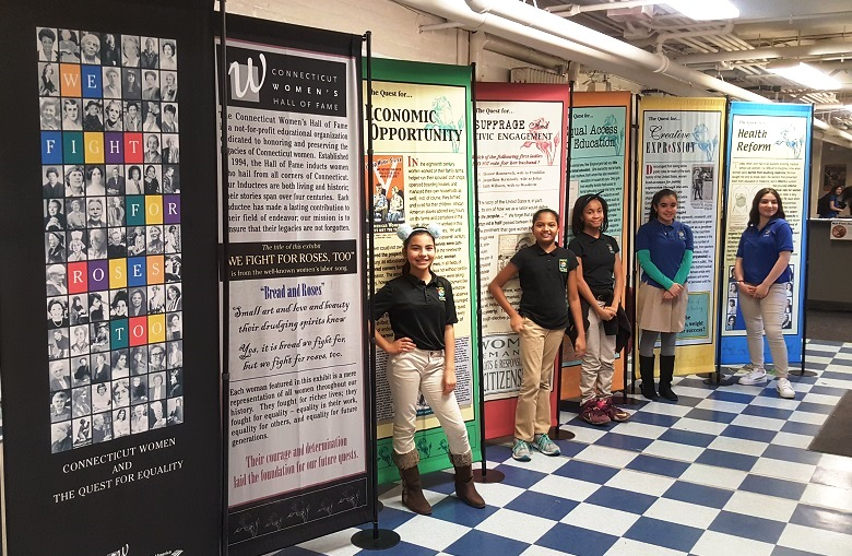 For Women's History Month, Betances STEM Magnet School Hosts 'We Fight for Roses, Too' Exhibit