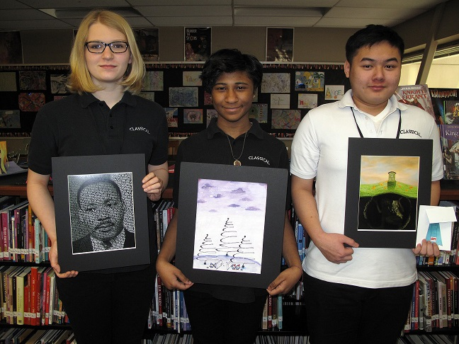 Classical Magnet School Students Win Arts Awards