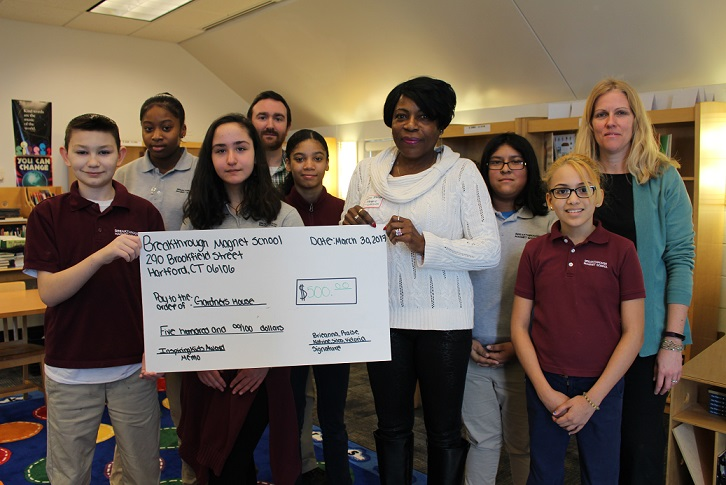 OUR PEOPLE: Success Leadership Program Helps our Middle School Students Support Local Charities in their Own Communities