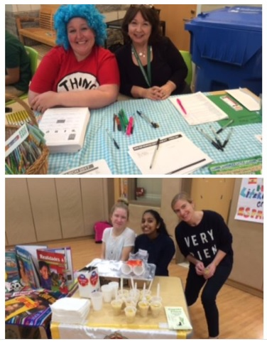 Environmental Sciences Magnet School at Mary Hooker Celebrates Literacy with Families