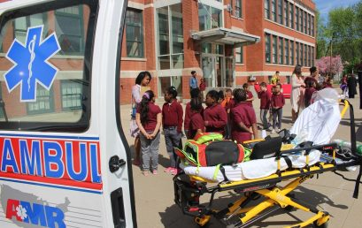 Martin Luther King, Jr. School and Rawson School Hold Career Days for their Students