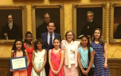 Burr School Students Recognized for Achievements in Governor's Reading Challenge