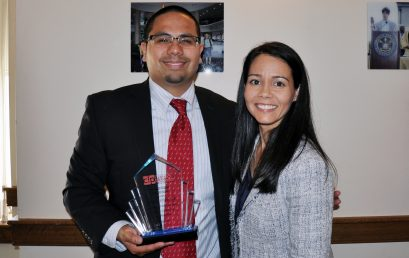 Board Member Receives Latino Progress Champion Award