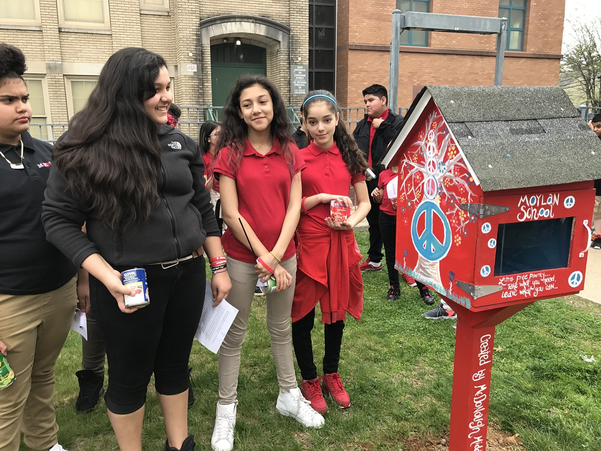 Better World Day and Beyond: McDonough Middle School Students Support their Community