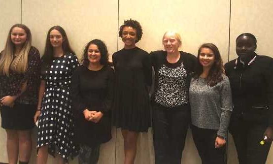 HMTCA Students Participate in STEM Girl Panel at NGCP Board Meeting
