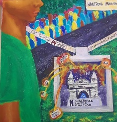 Bulkeley High School Students' Paintings to be Showcased at Hartford Marathon