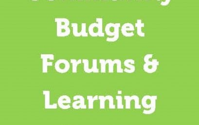 Learn about the New Budget Model & Process for 2019-2020