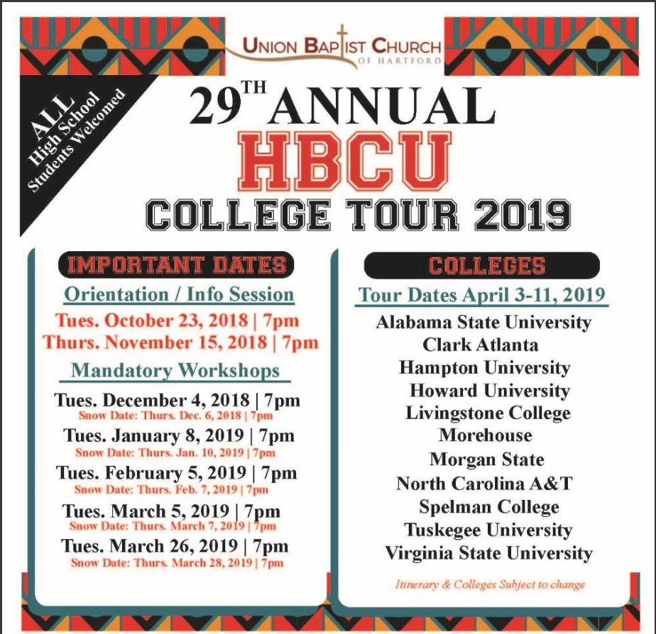 29th Annual HBCU College Tour