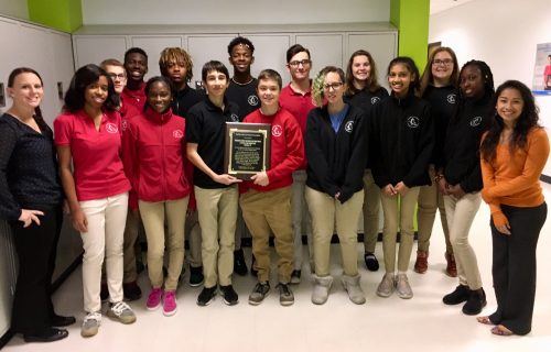 University High School Students Receive Recognition for Service Work in the Dominican Republic