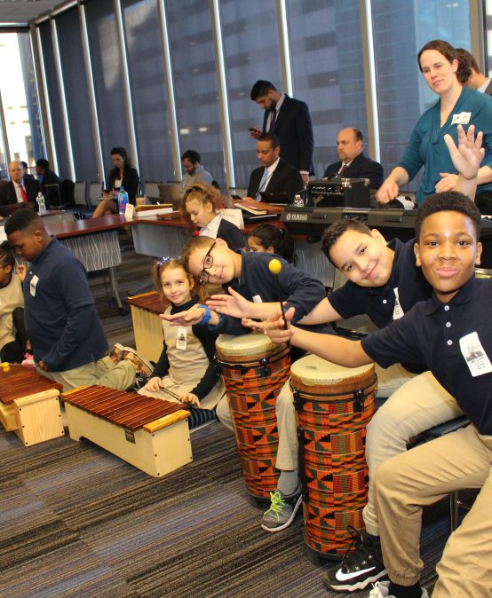 Montessori Magnet School at Batchelder Students Celebrate Black History Month with the CSBOE
