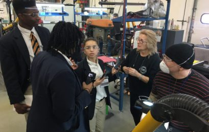 "Capital Prep Students Participate in  ""What's So Cool About Manufacturing?"" Video Competition"