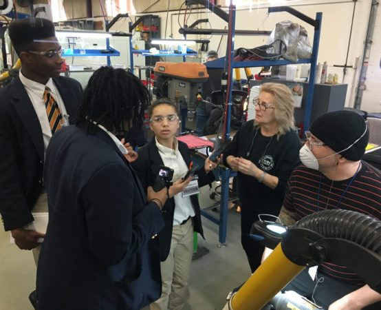 """Capital Prep Students Participate in  """"What's So Cool About Manufacturing?"""" Video Competition"""