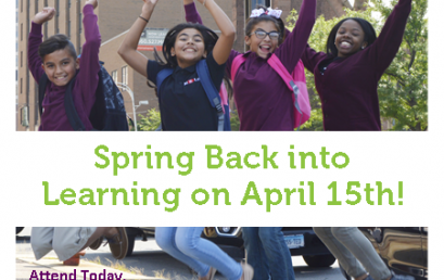 Spring Back into Learning on April 15th!