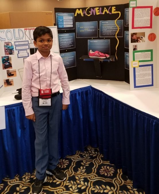Kinsella School 5th Grader is National Invention Convention Finalist