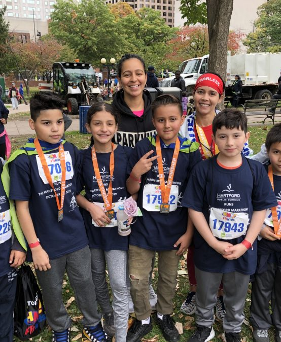 ARTS & WELLNESS: HPS Runs the Hartford Marathon!