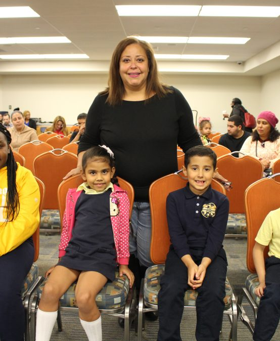Global Communications Academy Students Honor Local Hispanic Heroes at Board Meeting