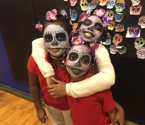 Dia De Los Muertos (Day of the Dead) at Wish School