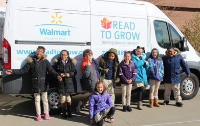 Kinsella Receives 750 Books from Read to Grow