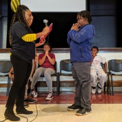 """Rawson School Engages Students in 4th Annual """"Skeleton Bee"""""""
