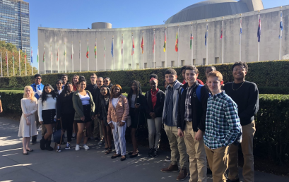 HPS Students Participate in Model UN Program