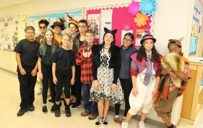 "Kinsella Middle School Students Stage ""On Strike"" Play"