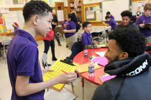 UConn Basketball Coach and Players Visit Naylor School