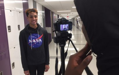 Weaver Student Reporter Video Finalist for Presidential Debate