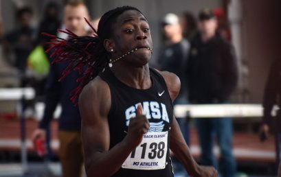 SMSA Senior Keith Berrouet Connecticut's Fastest Sprinter