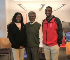 University High Students Celebrate Black History Month with Speaker Series