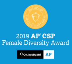 Pathways Academy of Technology and Design Earns College Board AP® Computer Science Female Diversity Award