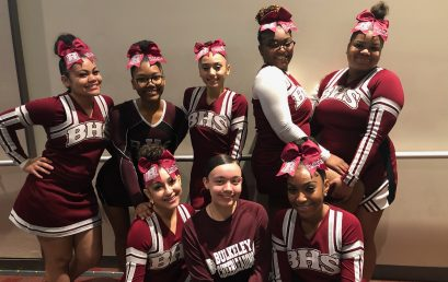 Bulkeley Bulldogs Cheer Squad Brings Home 1st Place Trophy