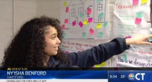 Kennelly School Students Imagining Ways To Help Puerto Rico