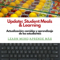 Coronavirus Update: Student Meals and Continuity of Learning